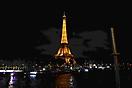 Ночной Париж. Вид на Эйфелеву башню_1